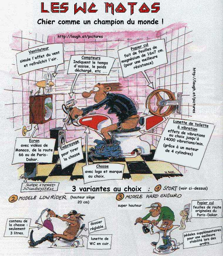 Bd humour motard - Dessin motard humoristique ...